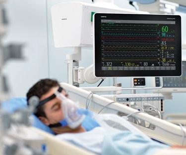 thumbnail: Habitación de hospital con un equipo médico