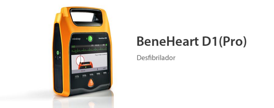 Desfibrilador BeneHeart D1