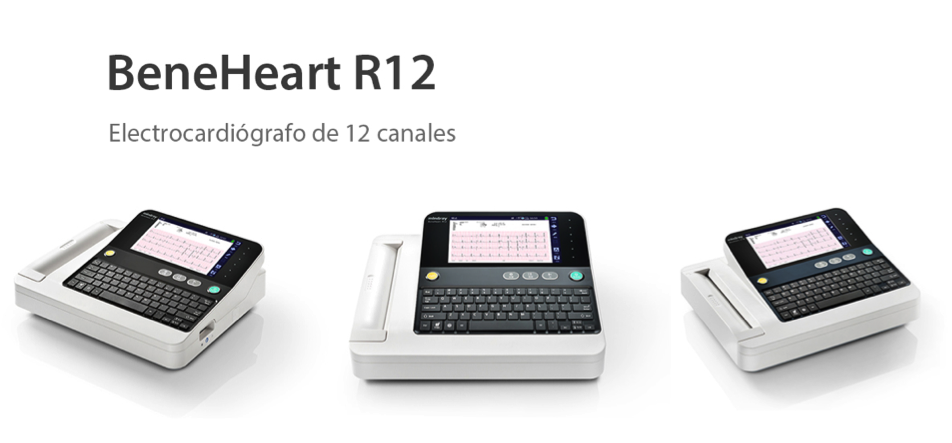 Electrocardiógrafo BeneHeart R12