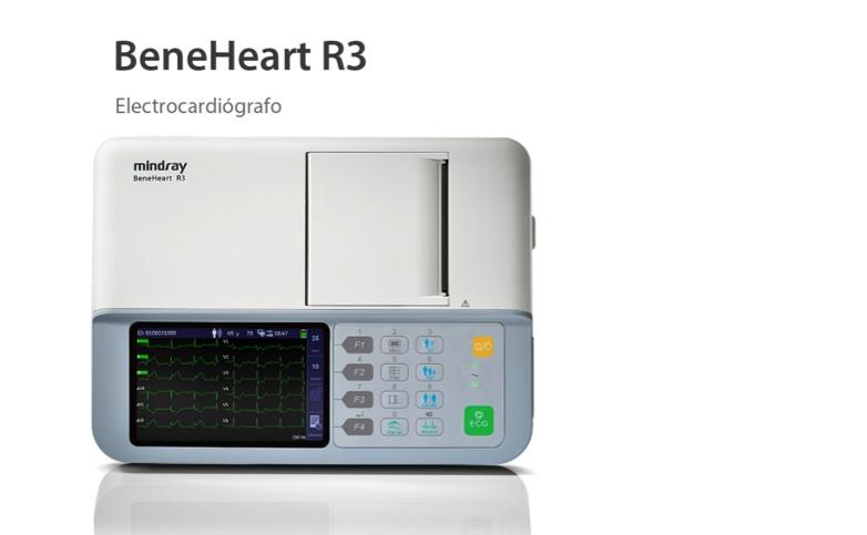 Electrocardiógrafo BeneHeart R3