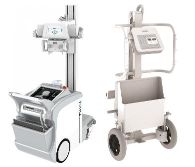 Modelos de equipos de radiografía portátiles