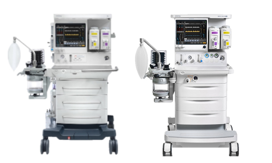 Máquinas de anestesia de la marca Mindray