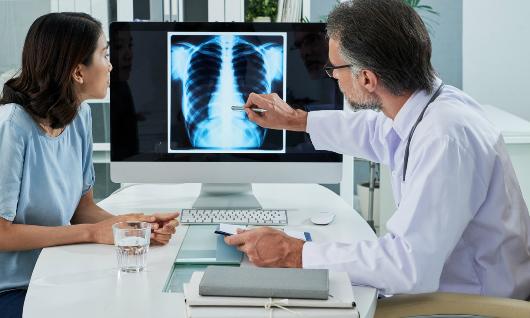 Pronóstico a paciente por medio de radiografía digital